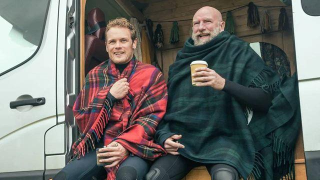 Sam Heughan regaña a los fans de 'Outlander' por no ser respetuosos con las localizaciones de la serie