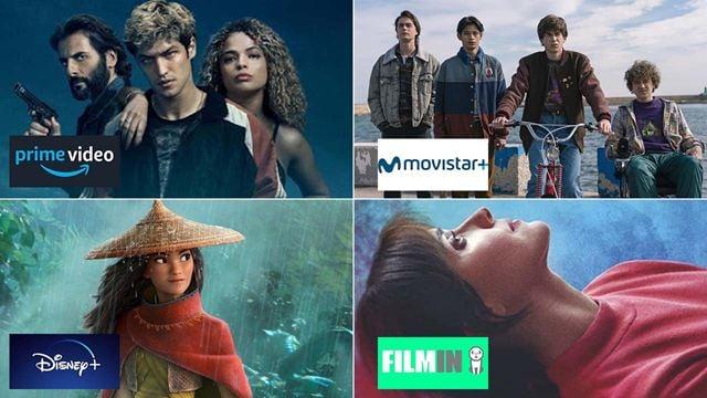 Estrenos de películas y series en Amazon Prime Video, Disney+, Movistar+ y Filmin en la semana del 31 de mayo al 6 de junio