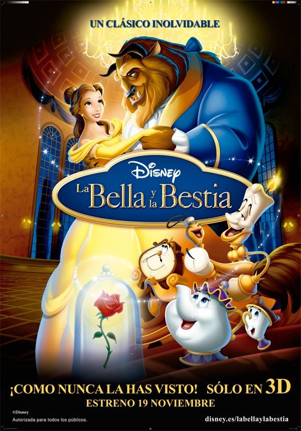 La Bella Y La Bestia Pelicula 1991 Sensacine Com