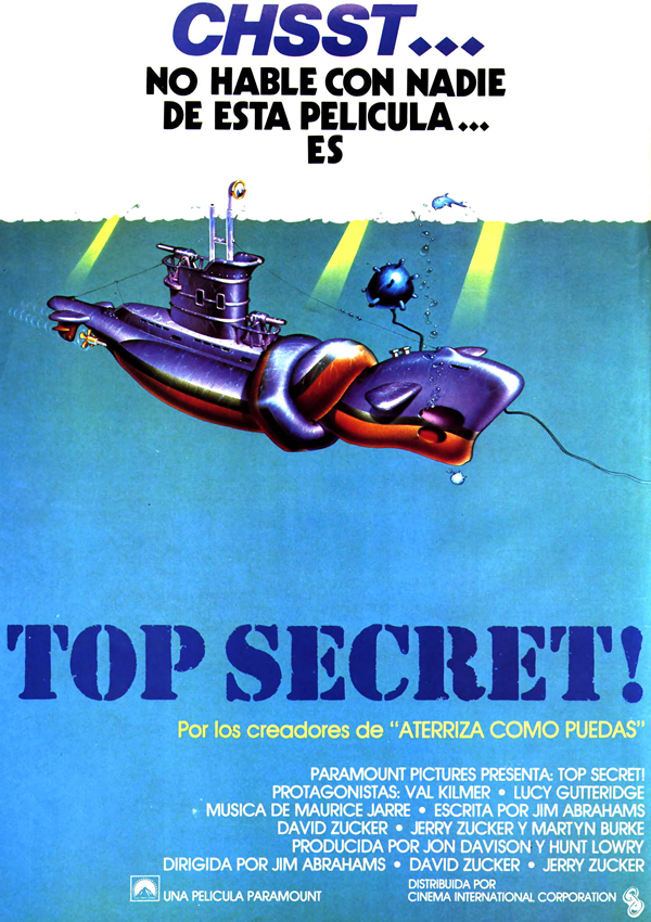 Top Secret Película 1984 Sensacine Com