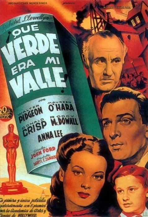 Qué Verde Era Mi Valle Película 1941 Sensacine Com