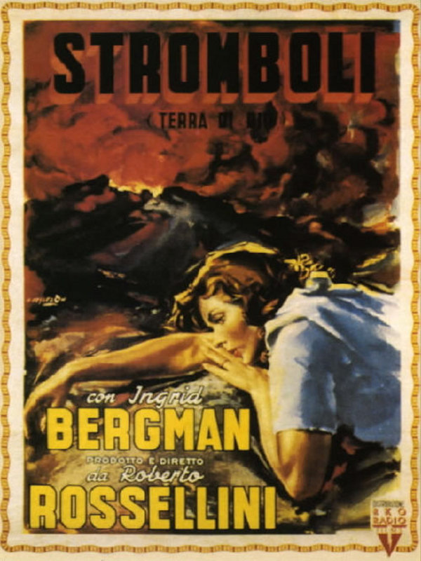 Stromboli, tierra de dios - Película 1950 - SensaCine.com