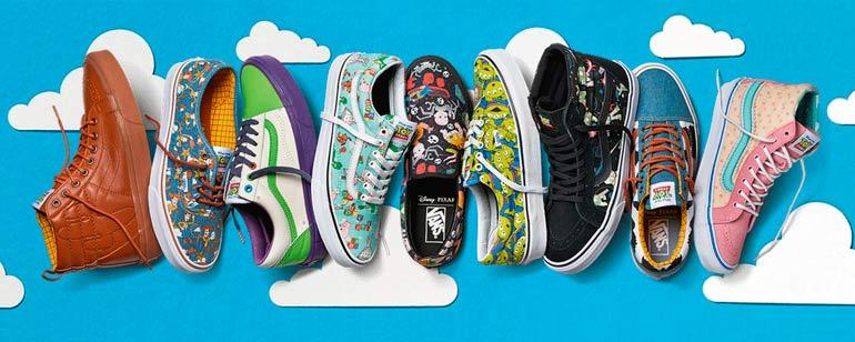 Toy Story': Vans lanza una línea de zapatillas inspiradas en la ...