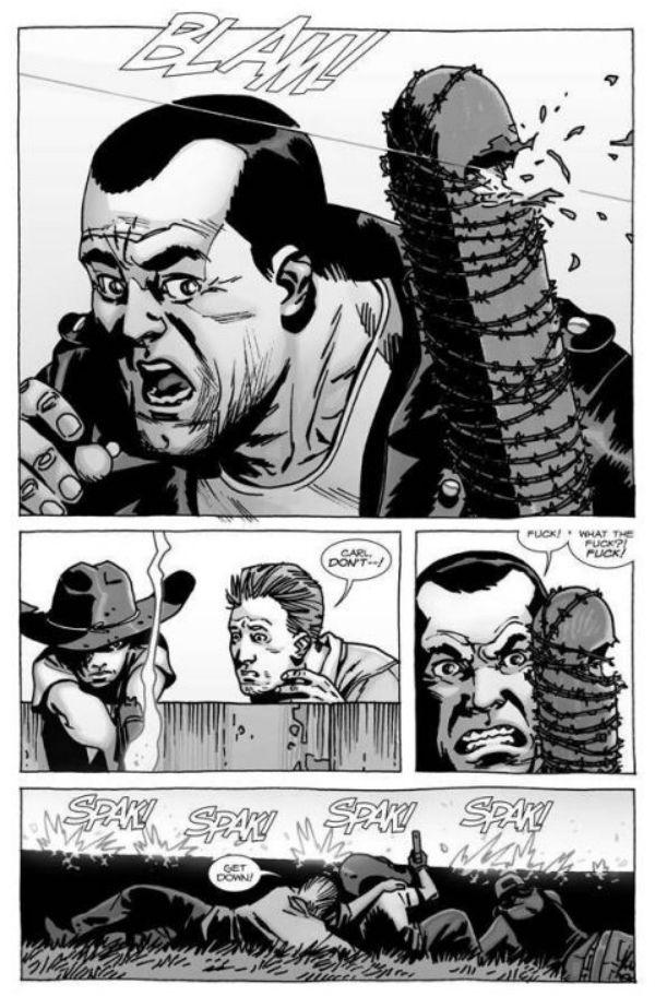 The Walking Dead: fíjate en una diferencia entre la serie y el cómic - 01
