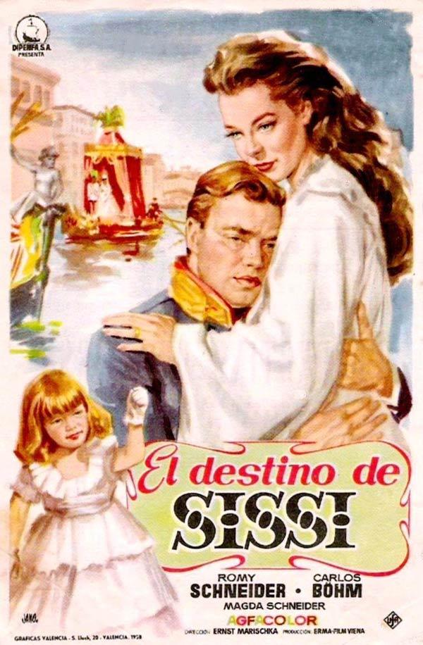 El Destino De Sissi Película 1957 Sensacine Com