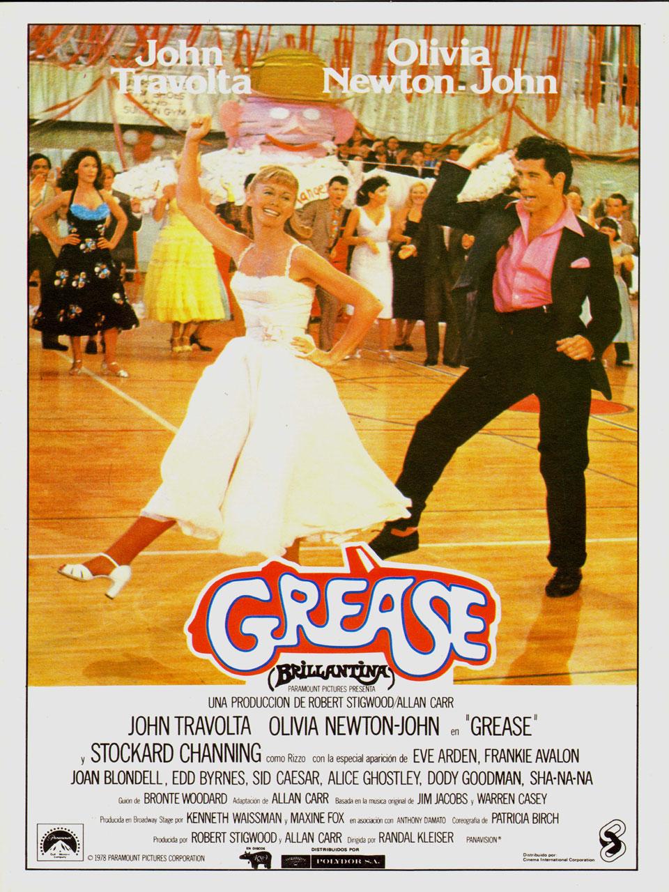 Grease Brillantina Película 1978 Sensacine Com