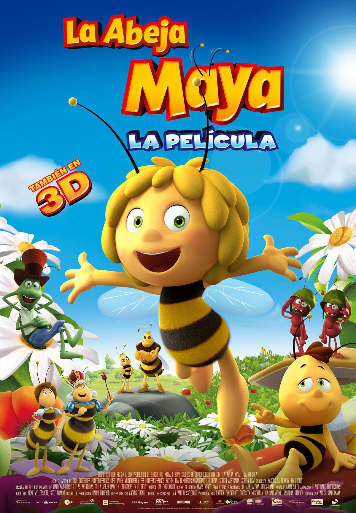 Resultado de imagen de abeja maya la pelicula completa