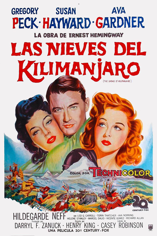 Las nieves del Kilimanjaro - Película 1952 - SensaCine.com