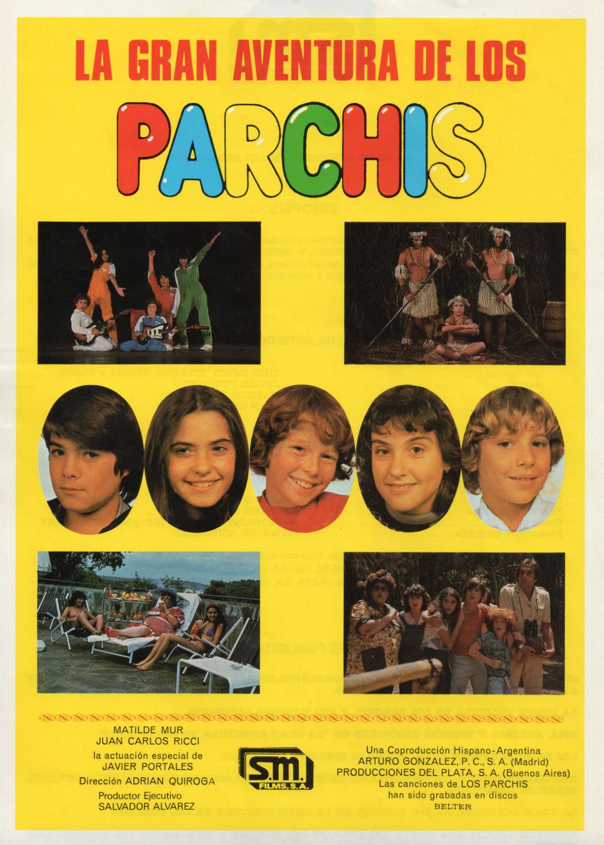 La gran aventura de Los Parchís - Película 1982 - SensaCine.com