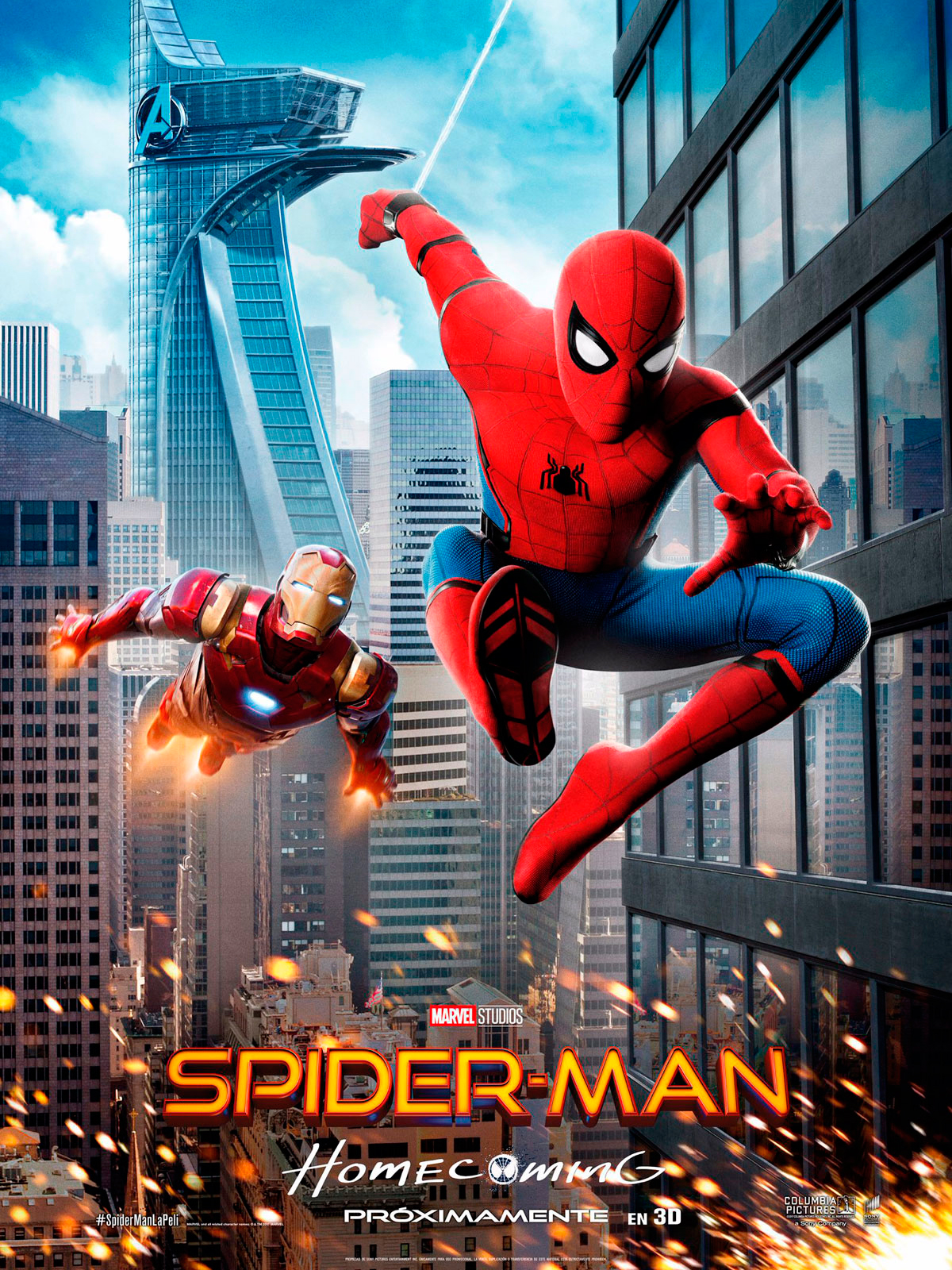 spider-man: homecoming - película 2017 - sensacine