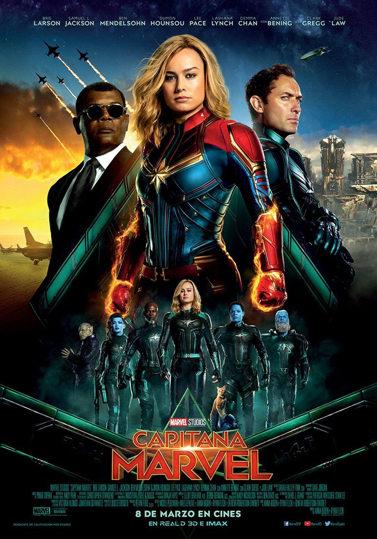Capitana Marvel - Película 2019 - SensaCine.com
