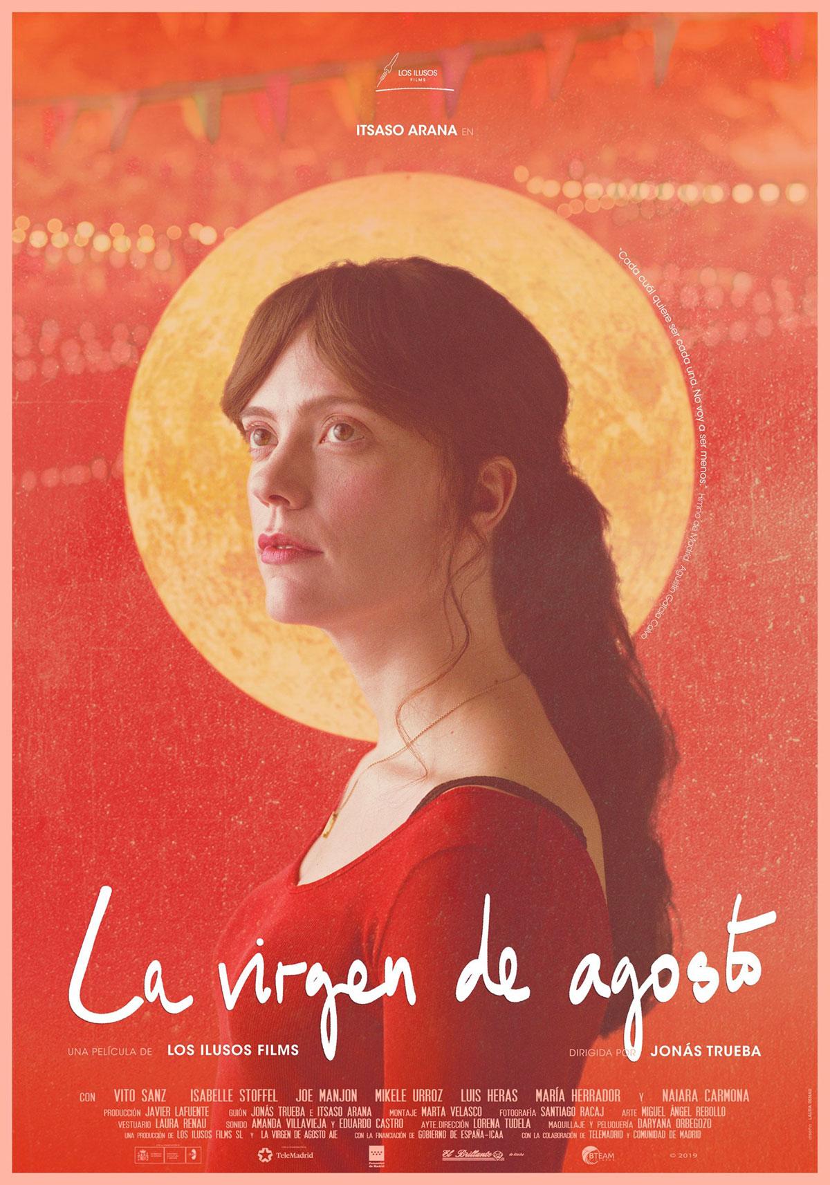 [好雷] 馬德里心旅行 La virgen de Agosto (2019 西班牙片)