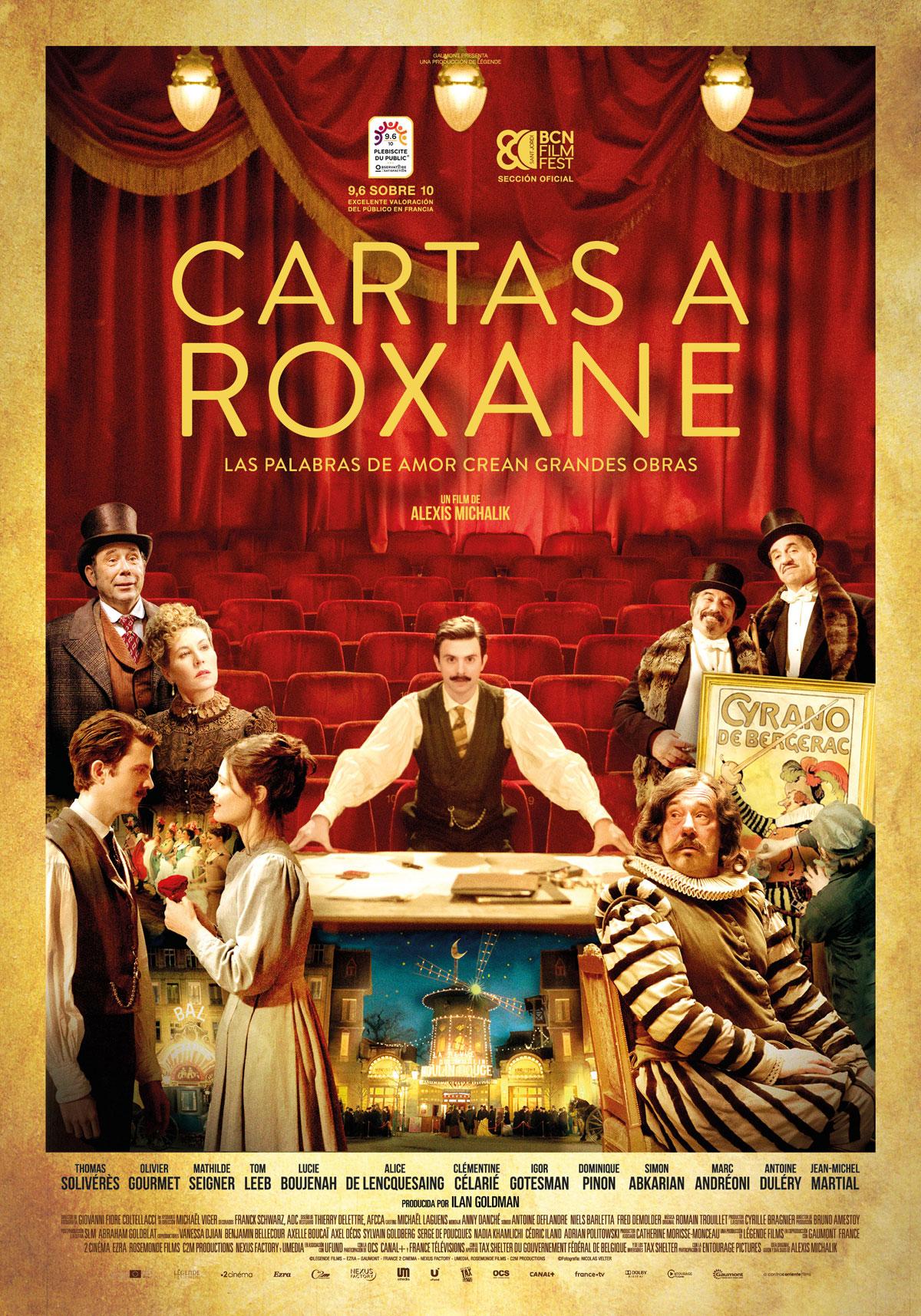 Cartas a Roxane - Película 2018 - SensaCine.com