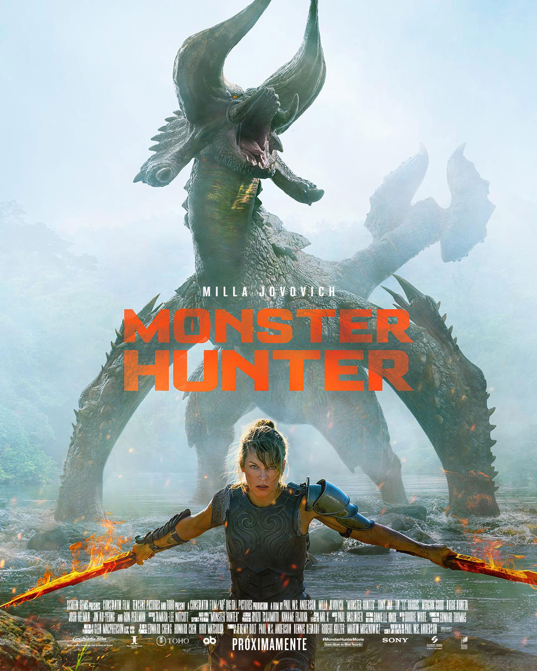 Monster Hunter - Película 2020 - SensaCine.com