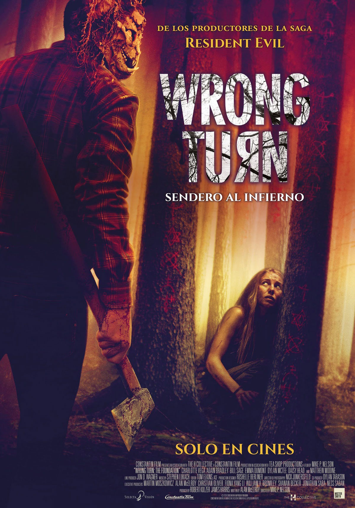 Wrong Turn: Sendero al infierno - Película 2021 - SensaCine.com