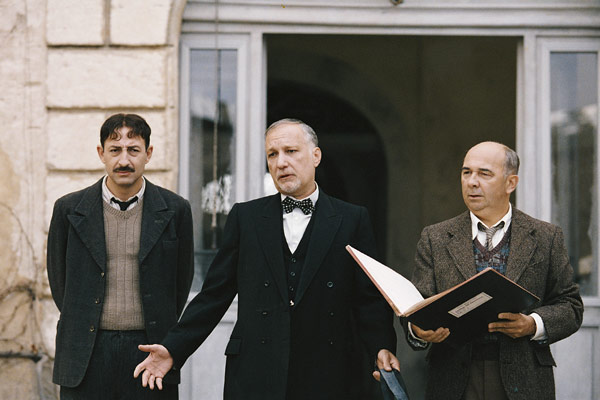 Los chicos del coro: Gérard Jugnot, François Berléand, Kad Merad