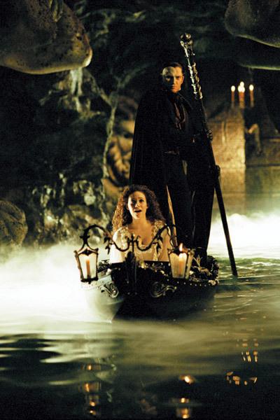 El fantasma de la Ópera de Andrew Lloyd Webber : Foto Emmy Rossum, Gerard Butler