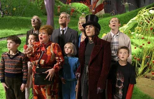 Charlie y la fábrica de chocolate: Jordan Fry, Johnny Depp, Freddie Highmore