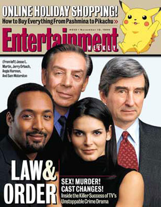 Ley y orden : Couverture magazine