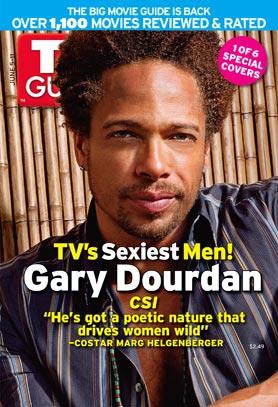 CSI: Las Vegas : Couverture magazine Gary Dourdan