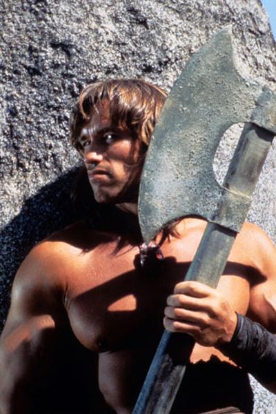 Conan el bárbaro: John Milius, Arnold Schwarzenegger, Robert E. Howard