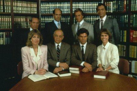 La Ley de Los Ángeles : Foto Alan Rachins, Corbin Bernsen, Harry Hamlin, Jill Eikenberry, Jimmy Smits