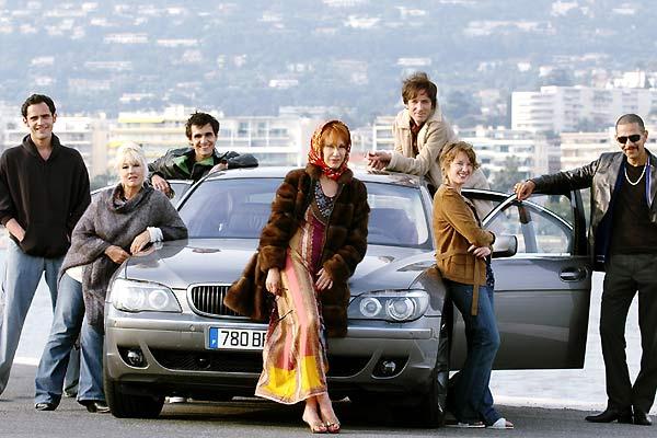 Foto Antoine Bibiloni, Jacques Fieschi, Ludivine Sagnier, Mylène Demongeot, Nathalie Baye