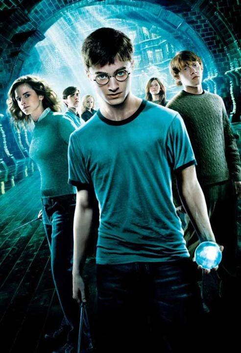 Harry Potter y la Orden del Fénix: Daniel Radcliffe, Emma Watson, Rupert Grint