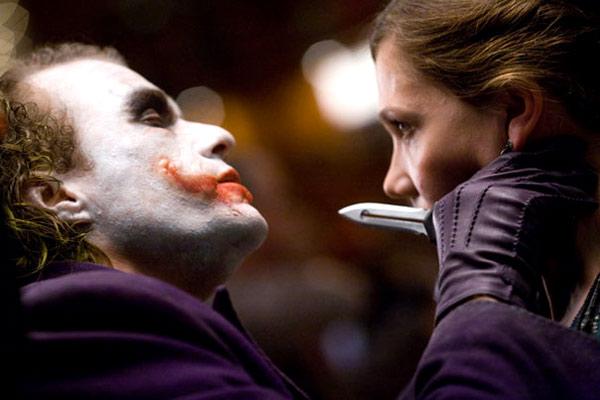 El caballero oscuro : Foto Heath Ledger, Maggie Gyllenhaal