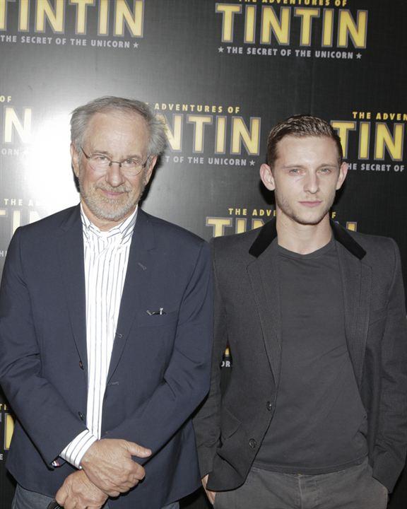 Las aventuras de Tintín: El secreto del unicornio: Jamie Bell, Steven Spielberg