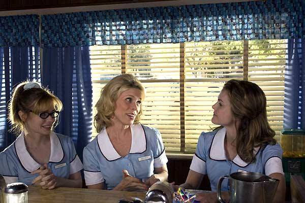 La camarera: Keri Russell, Adrienne Shelly, Cheryl Hines