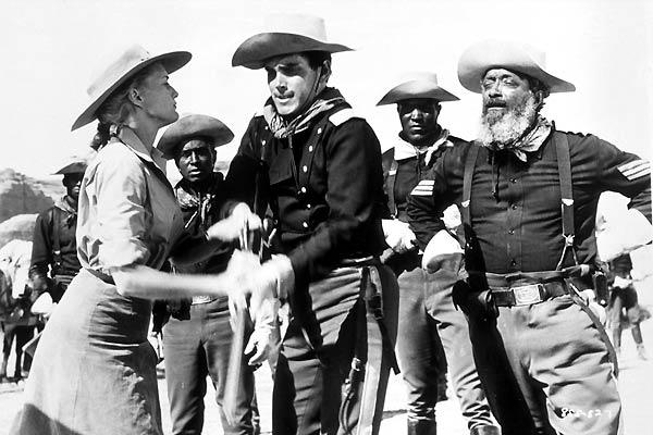 El sargento negro: Jeffrey Hunter, Constance Towers, John Ford
