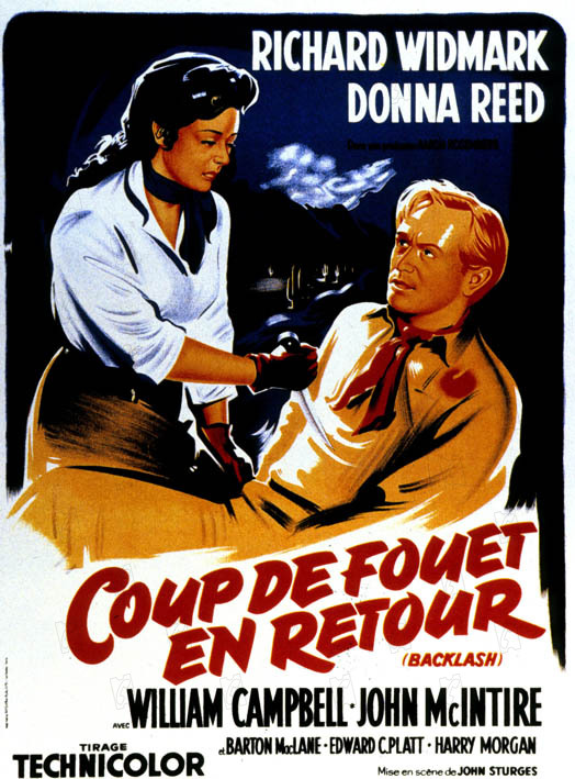 El sexto fugitivo: Donna Reed, John Sturges, Richard Widmark