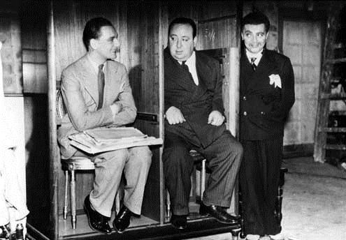 El agente secreto : Foto Alfred Hitchcock, John Gielgud, Peter Lorre