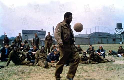 Evasión o victoria : Foto John Huston, Pelé