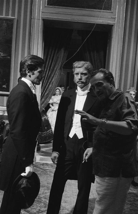 El Gatopardo: Luchino Visconti, Alain Delon, Burt Lancaster
