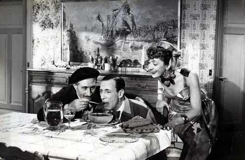 Foto Annette Poivre, Guy Lacourt, Noël Roquevert