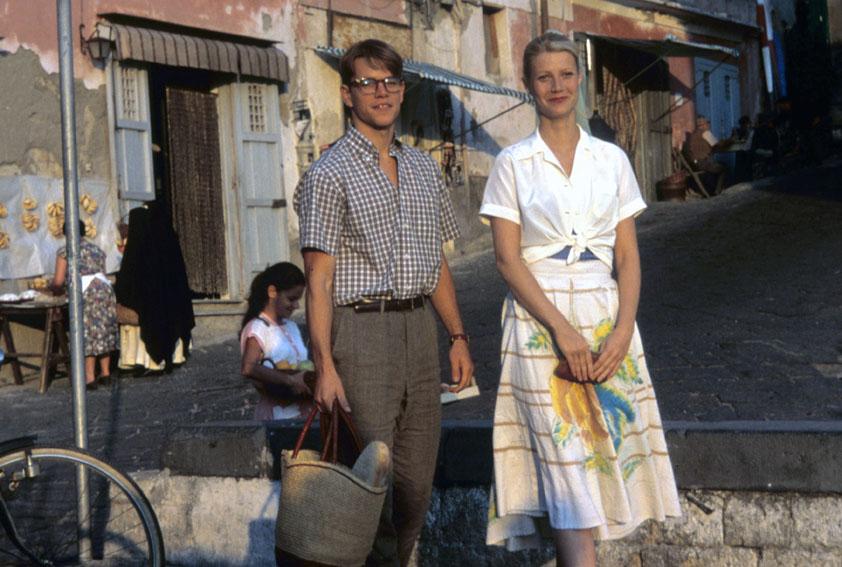 El talento de Mr. Ripley: Matt Damon, Gwyneth Paltrow