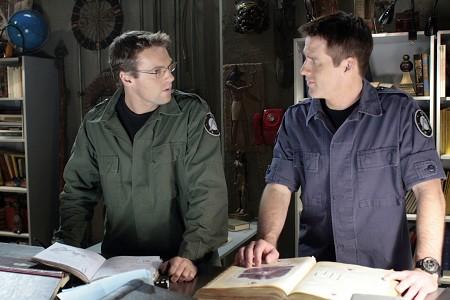 Stargate SG 1 : Foto Ben Browder, Michael Shanks (I)