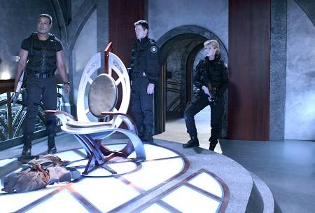 Stargate SG 1 : Foto Amanda Tapping, Ben Browder, Christopher Judge