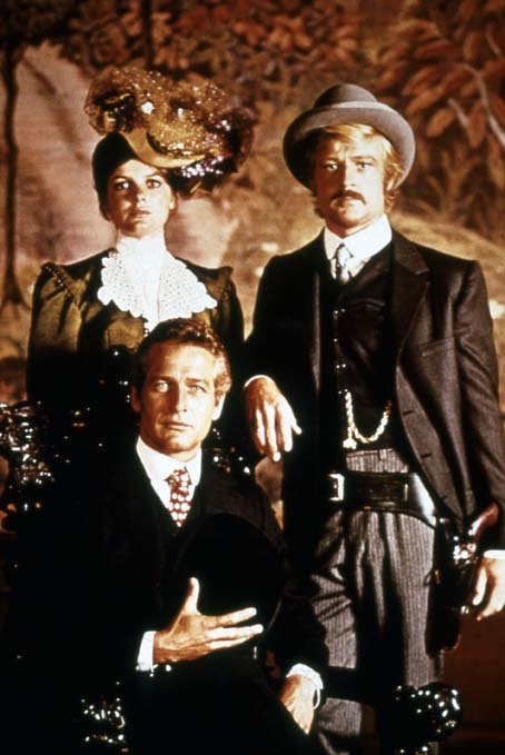 Dos hombres y un destino : Foto George Roy Hill, Katharine Ross, Robert Redford