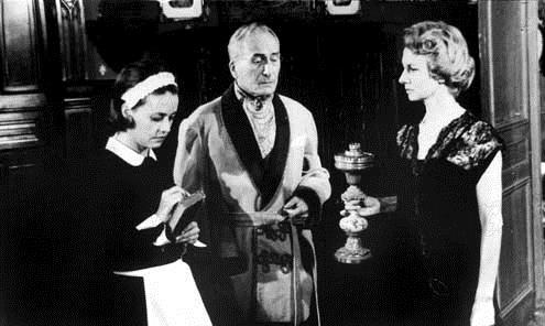 Diario de una camarera: Luis Buñuel, Francoise Lugagne, Jeanne Moreau, Jean Ozenne