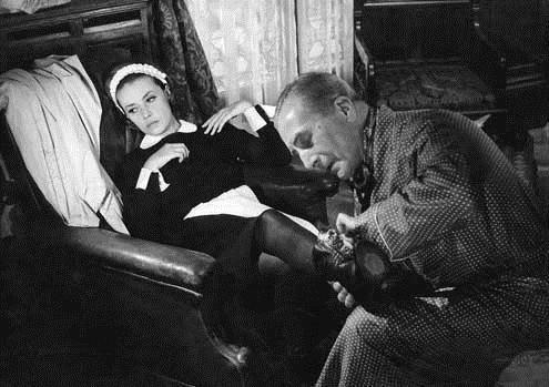 Diario de una camarera: Luis Buñuel, Jeanne Moreau, Jean Ozenne