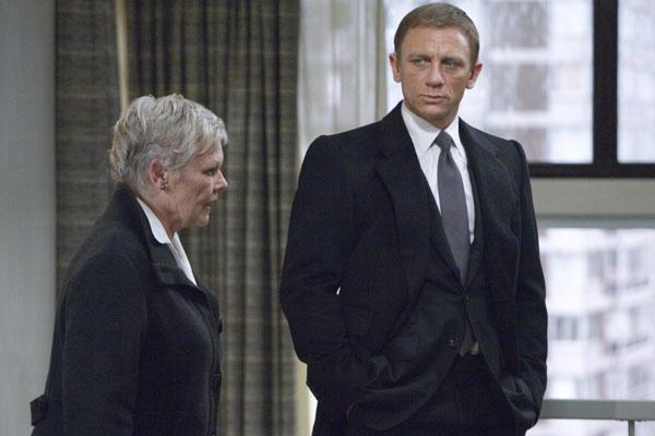 007 Quantum of Solace : Foto Daniel Craig, Judi Dench