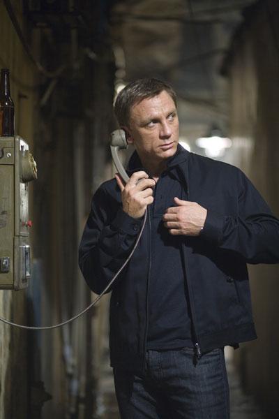 007 Quantum of Solace : Foto Daniel Craig