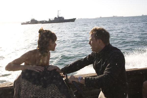 007 Quantum of Solace : Foto Daniel Craig, Olga Kurylenko