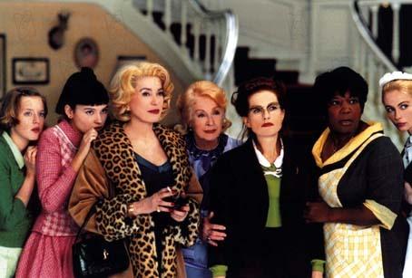 8 mujeres : Foto Catherine Deneuve, Danielle Darrieux, Emmanuelle Béart, Firmine Richard, Isabelle Huppert