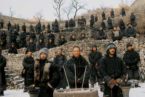 Foto Andy Lau, Jet Li, Takeshi Kaneshiro