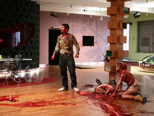 Dead Set: Muerte en directo : Foto Kathleen McDermott, Warren Brown