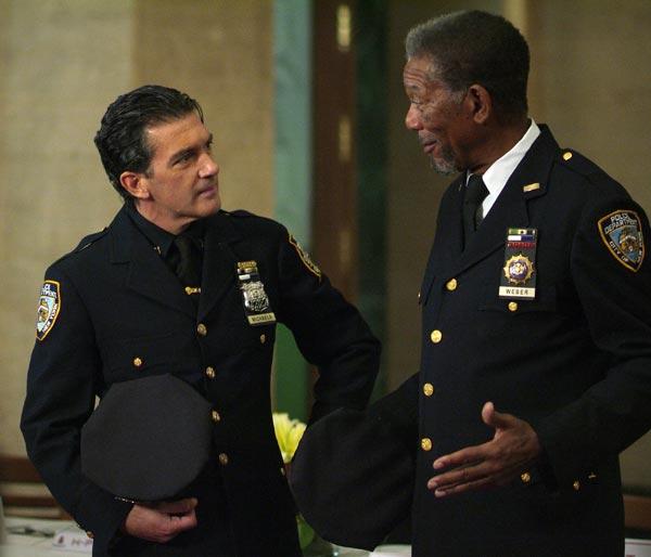 The Code: Antonio Banderas, Morgan Freeman